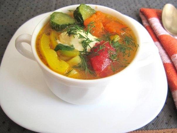 Рецепт очень вкусного растительного супа, просто пальчики оближешь — «7 в 1»